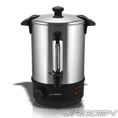 6.8L Electric Water Boiler Urn Warm Hot Drink Mulled Wine Tea Coffee Home Kettle