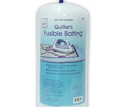 June Tailor Polyester Fusible Quilt Batting Double Size 81 x 91 Inch