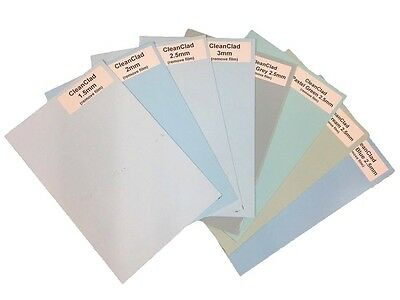Hygienic Wall Cladding Sample Pack White and Pastel Colours