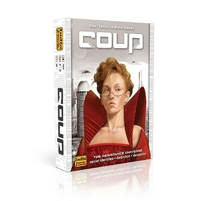 Coup Card Game - Brand New!