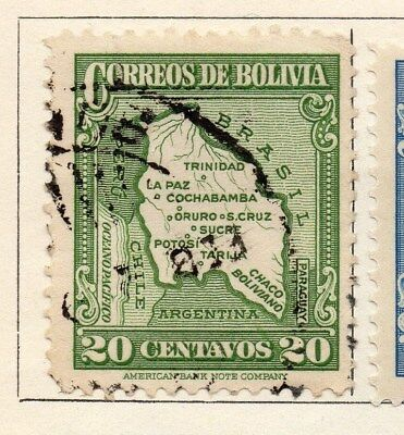 Bolivia 1935 Early Issue Fine Used 20c. 113793