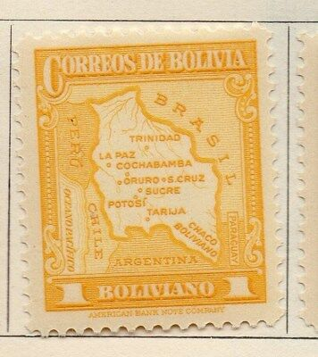 Bolivia 1935 Early Issue Fine Mint Hinged 1b. 113798