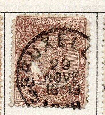Belgium 1893 Early Issue Fine Used 35c. 114941