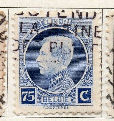 Belgium 1921-25 Early Issue Fine Used 75c. 114998