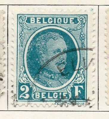 Belgium 1924-27 Early Issue Fine Used 2F. 115012