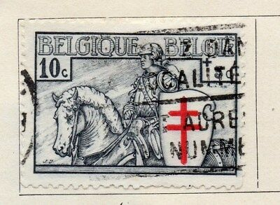 Belgium 1935 Early Issue Fine Used 10c. 115051