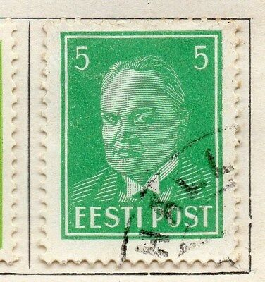 Estonia 1936 Early Issue Fine Used 5s. 114160