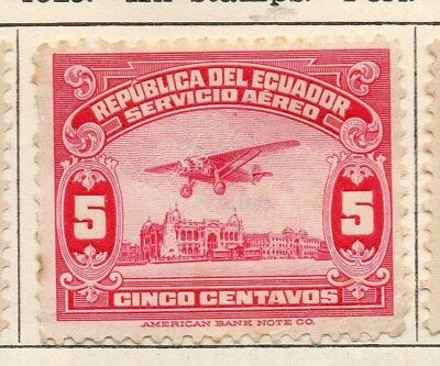Ecuador 1929 Early Issue Fine Mint Hinged 5c. 114185