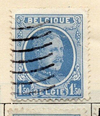 Belgium 1924-27 Early Issue Fine Used 1F.50c. 114378