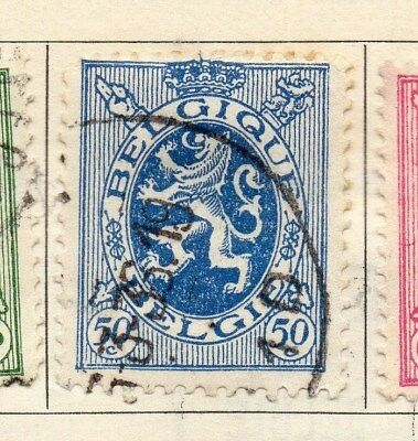 Belgium 1929-30 Early Issue Fine Used 50c. 114444