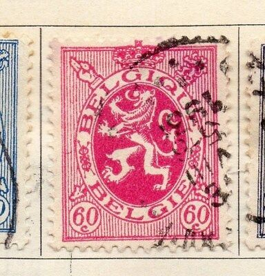 Belgium 1929-30 Early Issue Fine Used 60c. 114445