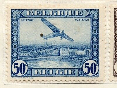 Belgium 1930 Early Issue Fine Mint Hinged 50c. 114447