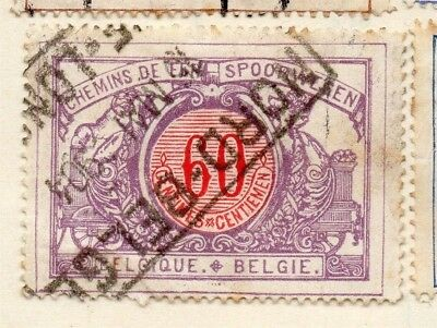 Belgium 1902 Early Issue Fine Used 60c. 114466