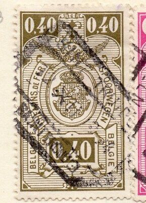 Belgium 1923 Early Issue Fine Used 40c. 114471