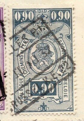 Belgium 1923 Early Issue Fine Used 90c. 114476