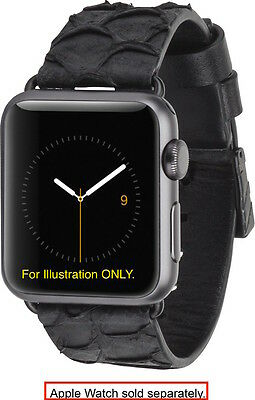 CaseMate - Scaled Smartwatch Band for Apple Watch 38mm - Black   FREE SHIP