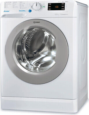 Lavatrice 9 Kg Indesit A+++ 60 cm Carica frontale 1200 giri BWE91284XWSSSIT