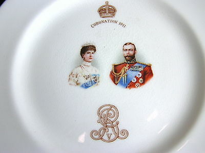 Royal Doulton QUEEN MARY KING GEORGE V Coronation Plate 1911 Royalty