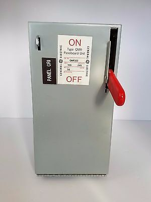 QMR323 Panelboard Unit General Electric GE Used 100A 240V Disconnect