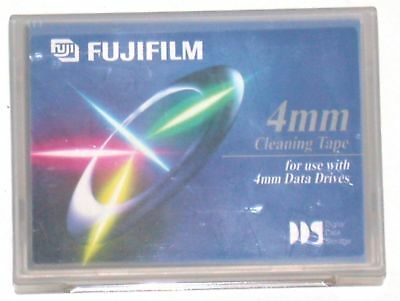 "FijiFilm 4 mm Cleaning Tape for Data Drives ~ 3"" L x 2"" W"