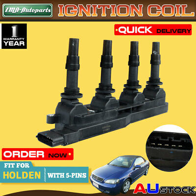 For Holden Astra AH Astra TS Z18XE X18XE Barina XC 1.8L Ignition Coil Pack