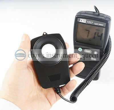 TES-1337 Digital Light Meter Spectral Sensitivity close to CIE photopic Curve.