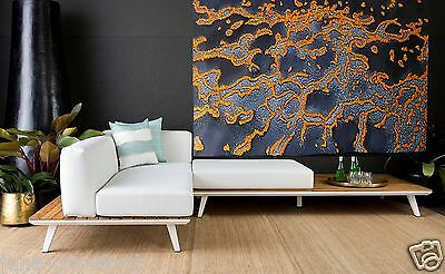 120cmx 80cm Aboriginal Art Painting Abstract Landscape Australia Oil Canvas
