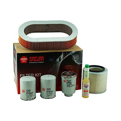 Nissan Patrol GQ TD42 4.2Ltr 1988 - 1999 Air, Fuel, Oil Filter Service Kit