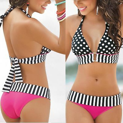 HOT Women Bikini Set Bandage Padded Push-Up Swimsuit Bathing Beachwear Swimwear