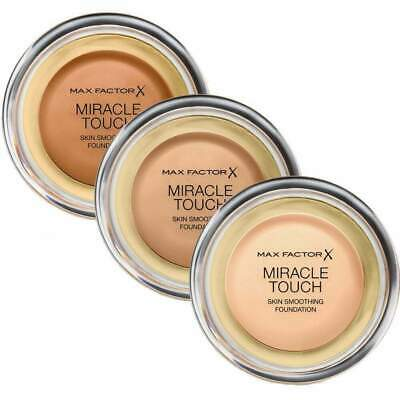 Max Factor - Miracle Touch Liquid Illusion Foundation - CHOOSE COLOUR  Brand New