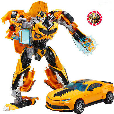Transformers Toys Human Vehicle Alliance Bumblebee Action Figure 18cm Tall  Gift