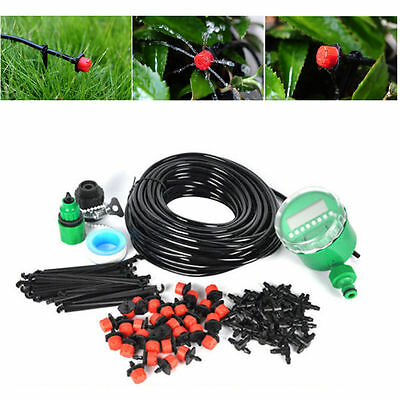 DIY Automatic Garden Watering System Irrigation Kits for Flowers Timer Plant UK