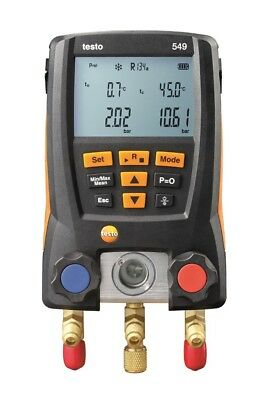 Testo 549 Digital Refrigeration Gauges Manifold