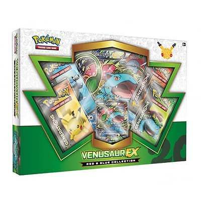 POKEMON RED & BLUE * Venusaur EX Box