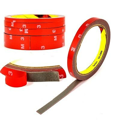 1 Roll Red Strong Permanent Double Sided Super Self-adhesive Sticky Tape