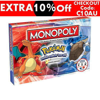 Monopoly Pokemon Collectors Edition Board Game - New & Sealed