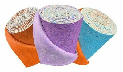 8, 10 & 12mm Thick PU Carpet Underlay Rolls UK Manufactured Quality Luxury Feel