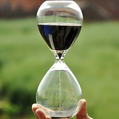 Colorful sand glass sandglass hourglass timer 5/10/30/60minutes 8 Colors  ぱ