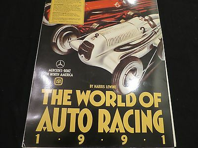 Calendar The World of Auto Racing 1991 Created by Mercedes Benz
