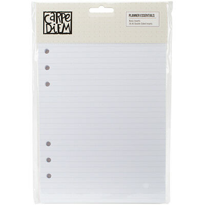 Simple Stories - Planner Essentials - Double Sided Inserts A5 36 Pack Basic - 2