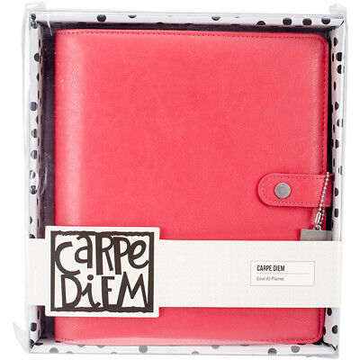Simple Stories - Carpe Diem - A5 Planner - Coral