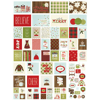 Simple Stories - Sn@p! Card Pack - Classic Christmas