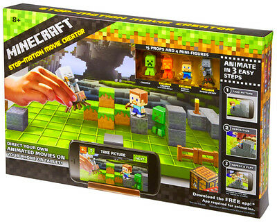 Minecraft Stop-Motion Animation Studio Make One-Of-A-Kind Films Movie Creator