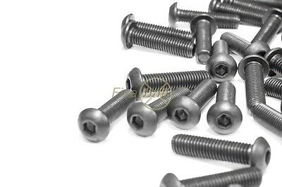 M3, M4, M5, M6, Button, Socket Screw, A2/ 304 Stainless.