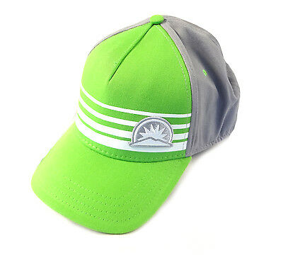 NEW Pukka Sunday River Lime Green/Gray Fitted A-Flex Hat/Cap