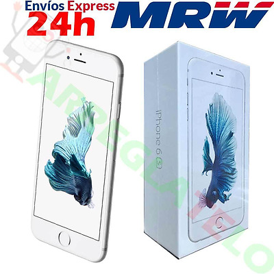 Apple iPhone 6S 16GB 4G ORIGINAL PLATA SMARTPHONE LIBRE OUTLET / SIN TOUCH ID