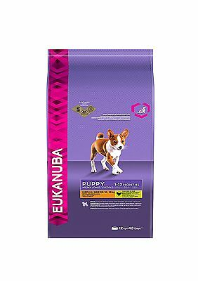 Eukanuba Puppy Dry Dog Food For Medium Breed Chicken, 12 Kg