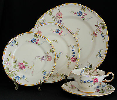 CASTLETON CHINA SUNNYVALE 5 PC PLACE SETTING Discontinued