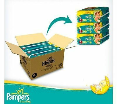 Pampers Nappies Baby New Dry Size 1,2,3,4,5,6 Monthly SUPER SAVING PACK