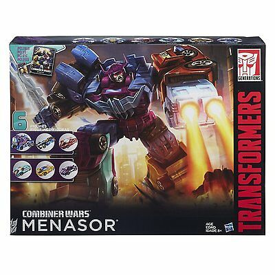 Transformers Generations G2 Combiner Wars Menasor Collection Pack NEW IN BOX